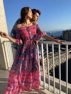Ibiza Fashion, Smocking, Off The Shoulder, Bodice, Sleeves, Dresses, Cold, Closure, Design