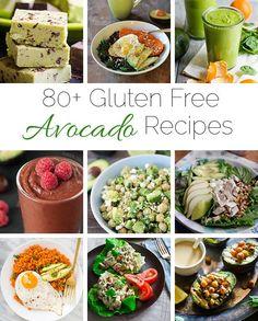 80+ Gluten Free, Healthy Avocado Recipes for ALL meals   Foodfaithfitness.com   @FoodFaithFit