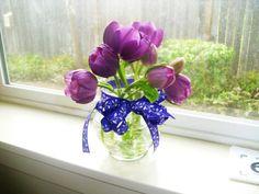 Tulip Arrangement's  Aprill 16th, 2012   2nd class