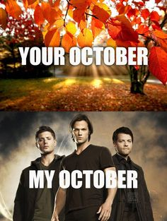 Like/Share if YOU love Supernatural! Season 10 starts tomorrow! Comment with YOUR favorite character.