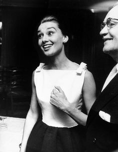 Audrey Hepburn at the Hotel Hassler in Rome, Italy, January 6, 1960.