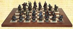 Fantasy Chess Set. (board not included)