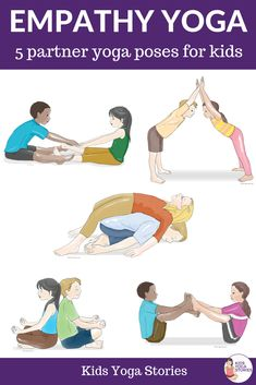 Empathy partner yoga poses for kids. Teach empathy through movemen… Free Poster! Empathy partner yoga poses for kids. Teach empathy through movement! Partner Yoga Poses, Kids Yoga Poses, Easy Yoga Poses, Yoga Poses For Beginners, Yoga For Kids, Exercise For Kids, Kids Workout, Ashtanga Yoga, Iyengar Yoga