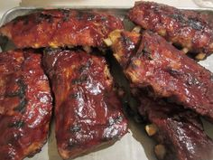 Way too easy Baby Back Ribs
