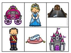 Write the room- Cinderella Story Sequencing, Sequencing Activities, Pete The Cat Author, Writing Center Kindergarten, Fairy Tale Activities, Author Studies, Art Lessons Elementary, Nursery Rhymes, Clipart