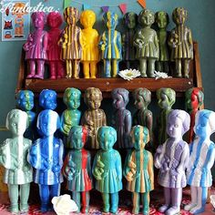 Fantastica shop ファンタスチカ雑貨店 pop, kitsch, retro, zakka from Japan クロネットドール Clonette dolls made from recycled plastic