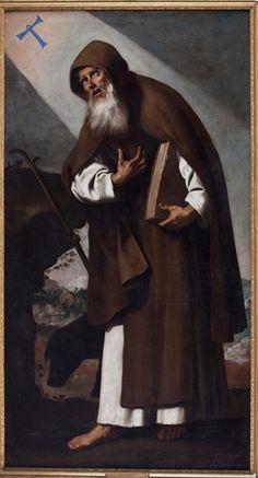 """Francisco de Zurbarán """"San Antonio Abad"""""""