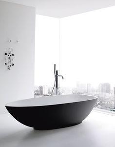 Freestanding Korakril™ #bathtub BOMA by Rexa Design #bathroom @Rexa Design