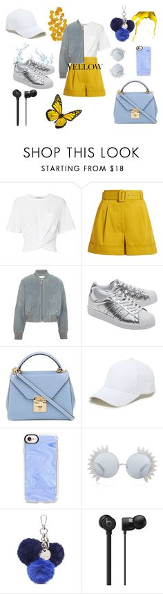 """Untitled #24"" by anken-fjellstad-mardalen on Polyvore featuring T By Alexander Wang, Isa Arfen, See by Chloé, adidas Originals, Mark Cross, Sole Society, Casetify, Linda Farrow and Nine West"