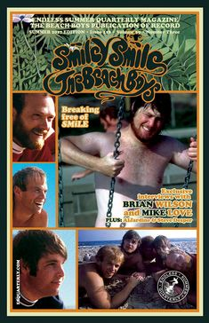 SUMMER 2017, Issue #118: THE BEACH BOYS - Smiley Smile 50th Anniversary » Endless Summer Quarterly Carl Wilson, Dennis Wilson, Summer Boy, Summer Beach, Best Classic Rock, Smiley Smile, Mike Love, Love Plus, The Beach Boys