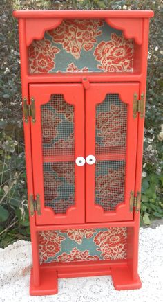 Vintage Refurbished Cabinet by HeatherLVarady on Etsy, $70.00