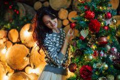 Личный блог: Новогодняя фотосессия меня
