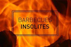 Notre planche spéciale barbecues ou feu de bois, pour vous inspirer dans votre travaux d'extérieur ! Barbecue, Inspirer, Signs, Fire Pits, Barrel Smoker, Shop Signs, Bbq, Barbacoa, Sign