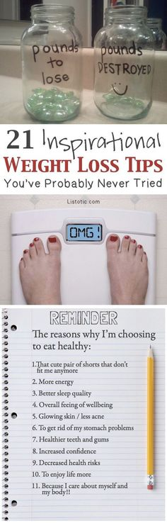 Weight loss tips and motivation for women and teens! Lose that belly and develop a fitness plan that works for you! You won't believe your before and after (mentally and physically). Whether you want to lose it fast or over time, these tips will help you get there. Listotic.com