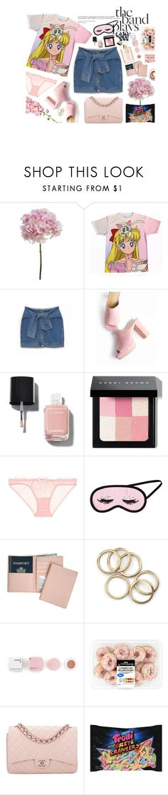 """""""#232"""" by heycher on Polyvore featuring moda, DKNY, Chanel, Bobbi Brown Cosmetics, L'Agent By Agent Provocateur, H&M, Royce Leather, Korres e Martha Stewart"""