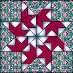 Flying Swallows Quilt Block free pattern on McCall's Quilting at http://www.mccallsquilting.com/patterns/details.html?idx=8055