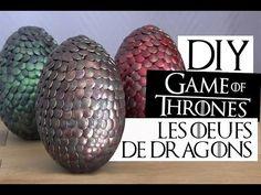 DIY - Les oeufs de dragons Game of Thrones   Tutoriel