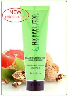 (Scrubs) WALNUT GRAPEFRUIT SCRUB  Body Polishing Treatment
