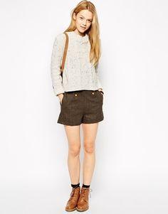Enlarge Miss Patina Shandy Shorts In Tweed