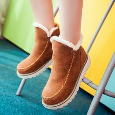 Shoes Women's Shoes Industrious Women Suede Square Heel Square Toe Keep Warm Zipper Short Tube Martin Boots Woman Winter Lady Snow Boots Fashion Classic 2018