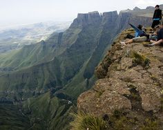 Mont-Aux-Sources, Natal NP, Tugela, Drakensberg, South Africa by Marie-Marthe Gagnon, via Flickr