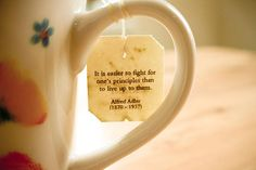 photography quote Black and White coffee edit live mug tea fight principles alfred adler from-the-hospital-bed Alfred Adler, Tea Tag, Black And White Coffee, First Principle, Tea Quotes, Little Things Quotes, Quotes About Photography, Morning Inspiration, Different Quotes
