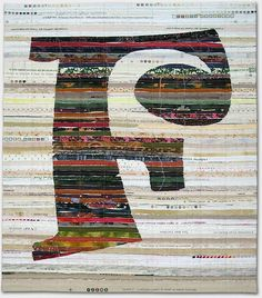 Kathleen Loomis - Quilted Letters - Jaunty F