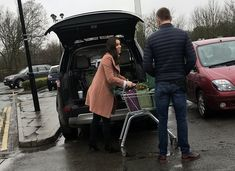 Duchess Catherine was seen shopping at Waitrose in Norfolk