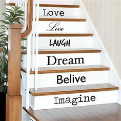 Values Stair/Wall Stickers