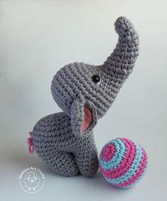 Modelos de Amigurumi Elefante