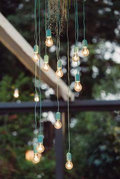 wedding lights #blue
