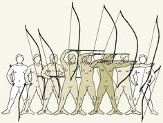 Kyudo bow draw and release. Archery Bows, Archery Hunting, Bow Hunting, Samurai, Mounted Archery, Traditional Archery, Bow Arrows, Kendo, Action Poses