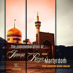 The commemoration of Imam Reza (PBUH) Martyrdom. The eighth shia imam. #masaf #islam_pfr #islam #shia #ahlussunnah #christianity #imam #imam_reza #imamreza
