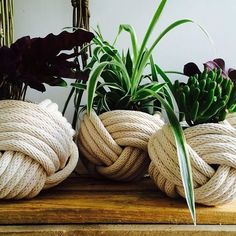 Rope Pot Cover