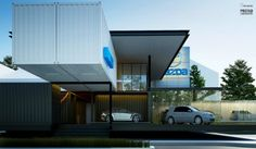 Modular Mazda Shipping Container Car Dealership To Be Built in Phases   Inhabitat - Sustainable Design Innovation, Eco Architecture, Green B...