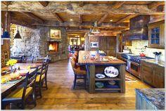 rustic farmhouse kitchens - Google Search