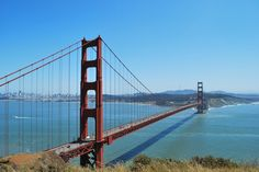 View of Golden Gate Bridge from Battery Spencer #SanFrancisco