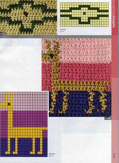 Materiales gráficos Gaby: Nueva colecciòn de puntos para tejer