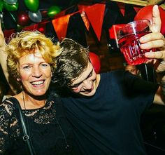 Martin garrix and his mom❤