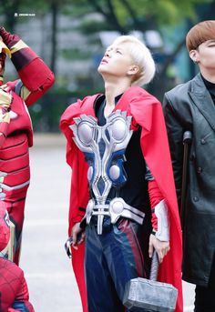 Jackson as Thor! Jackson Wang, Got7 Jackson, Girls Girls Girls, Boys, Jaebum, Youngjae, Got7 Yugyeom, Jinyoung, Thor 1