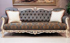 Nichola avantgarde sofa sets simple and elegant design avantgarde sofa set can made with different fabric and size. Decor, Furniture, Royal Sofa, Classic Sofa Sets, Love Seat, Sofa, Classic Sofa, Victorian Sofa, Sofa Set