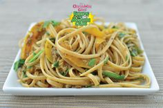 Pasta with Peppers! Great ideas to spice up your pasta! Healthy and tasty! organwiseguys.com