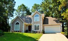 Great home on the golf course located on cul de sac! Spacious master downstairs and 3 large bedrooms upstairs plus big bonus room. Greatroom has tall ceilings and cozy fireplace. Formal dining and breakfast room.  Wood floors and tile in main living areas. Big deck overlooks golf course. Four community pools, golf course, tennis courts, yacht club on Mobile Bay, plus riding stables. Easy access to I-10.