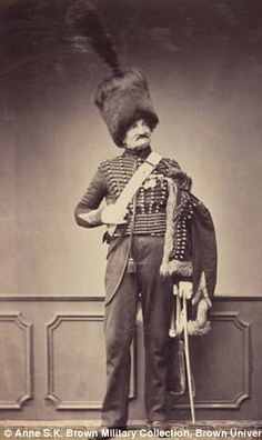 Monsieur Maire of the 7th Hussars around 1809-1815...