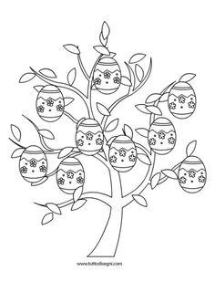 disegni-pasqua-albero