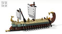 LEGO Ideas - Ancient greek bireme (micro model)