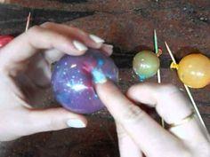 Burbujas de gelatina para decorar tus tartas - YouTube