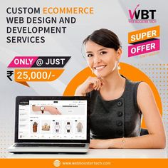 Web Booster Tech is a leading IT Company that provides custom eCommerce Design and Development services in a very affordable Cost in pan India.  Our eCommerce web designer will start their work with you by holding a consultation to discover your goals for your website and the needs of your branding  #websitedesign #webdesignanddevelopment #webdevelopmentcompany #customwebdevelopment #ecommercewebsitedevelopmentindia #ecommercewebdesign #ecommercewebdesignservice… Best Digital Marketing Company, Ecommerce Website Design, Web Design Services, Web Development Company, Online Shopping Sites, Tech, Branding, Goals, India