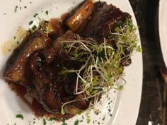 Caramelized Beef Short Ribs *