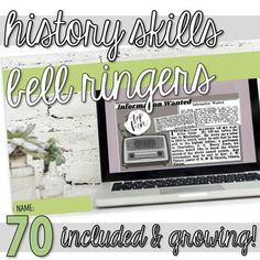 This resource includes over 70 skill-based activities (mini-lessons, bell ringers, warm-ups, bell work, start-nows, early-finishers, enrichment work) focusing on historical thinking skills (simple review activities and more complex activities are included). Most activities incorporate primary sources such as maps, photos, art, quotes, and more. Links to videos and supplementary resources are also included in this resource. (Primary source citations are included in the speaker notes.) Tulsa Race Riot, Primary And Secondary Sources, Middle School, High School, Bell Work, Bell Ringers, History Class, Thinking Skills, Educational Videos
